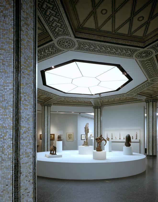 Ausstellungsraum im ehemaligen Bucerius Gebäude