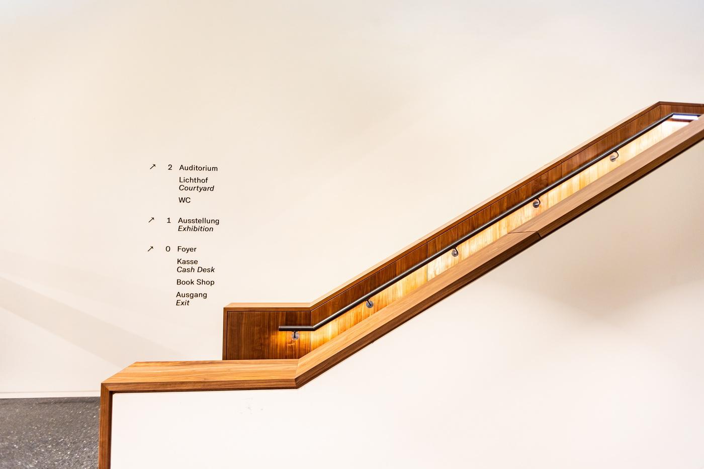 Bucerius Kunst Forum neuer Innenraum Treppe