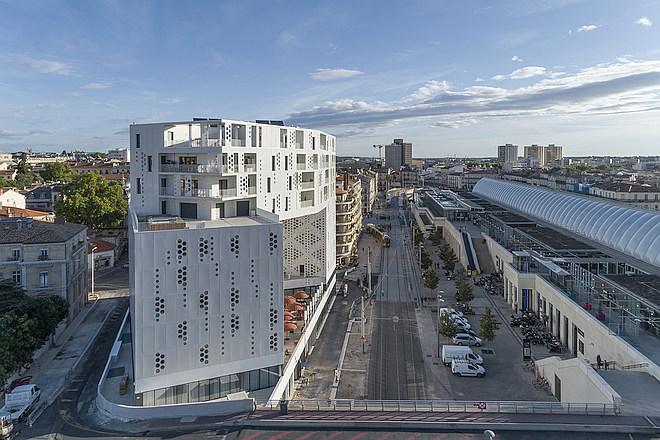 multifunktionales Gebäude in Montpellier