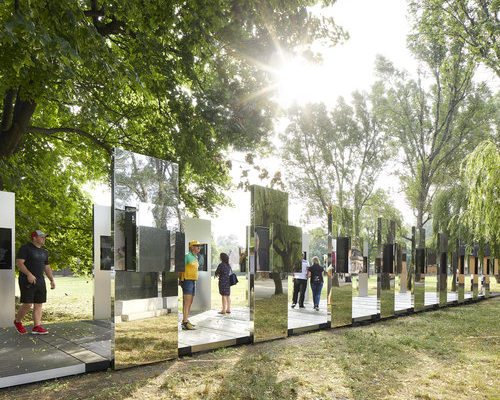 Through the Lens of Faith: Daniel Libeskind entwirft schimmernd-schlichte Installation in Auschwitz-Birkenau