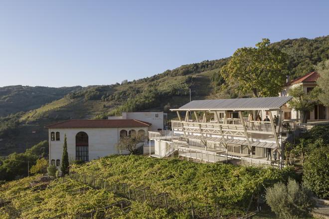 Arrokabe Arquitectos Entwurf in den Weinhängen