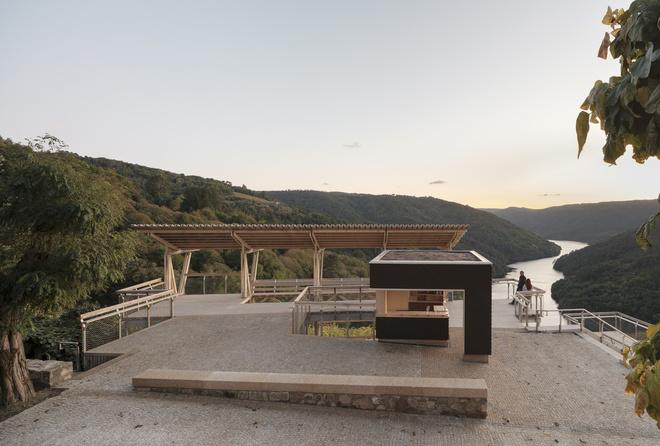 Arrokabe Arquitectos Holzterrasse