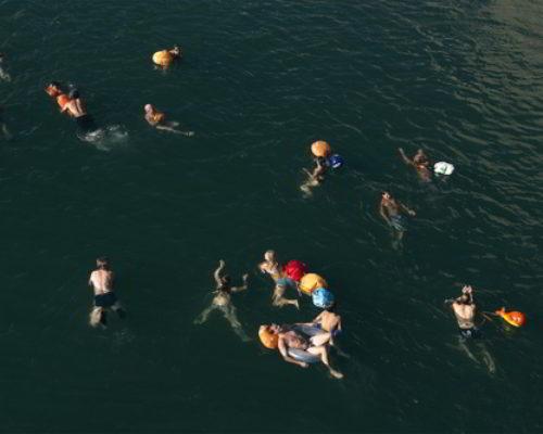 Swim City: Flussschwimmen im urbanen Raum, 20.6.2020-2.8.2020, DAZ Berlin