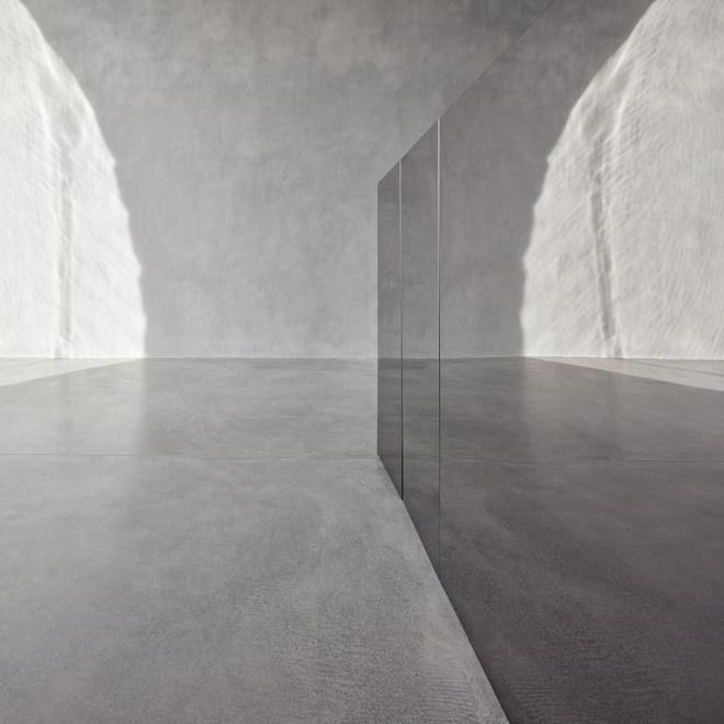 Rasin Ufer Theke Wand Wasser Reflektionen