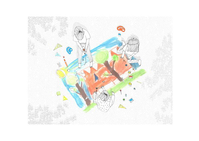 Chybik+Kristof Mehrzweckarena Jihlava zeichnende-Kinder