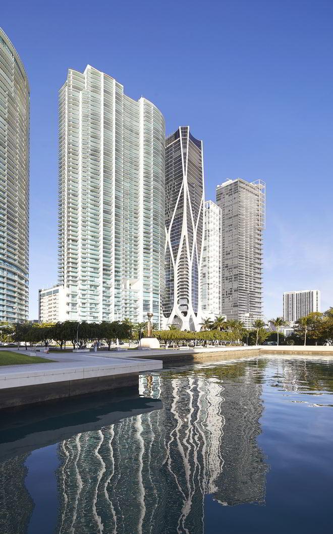 One Thousand Museum an der Küste von Miami