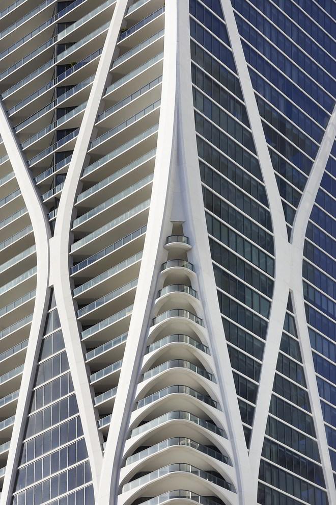 Zaha Hadid One Thousand Museum Fassadenausschnitt