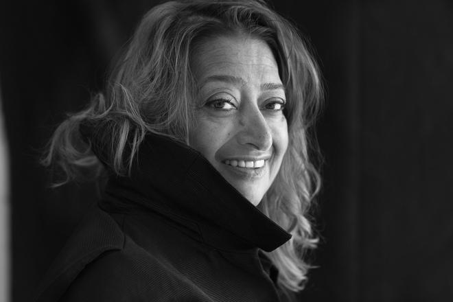 Zaha Hadid Portrait