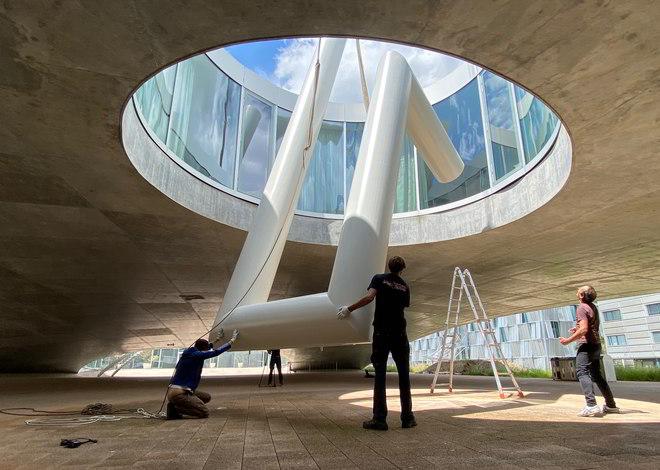 Lang Baumann Installation in Lausanne