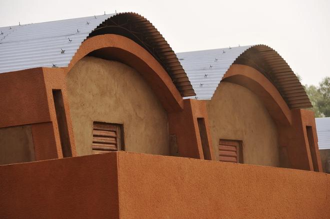 Lehrerhäuser in Gando von Francis Kéré