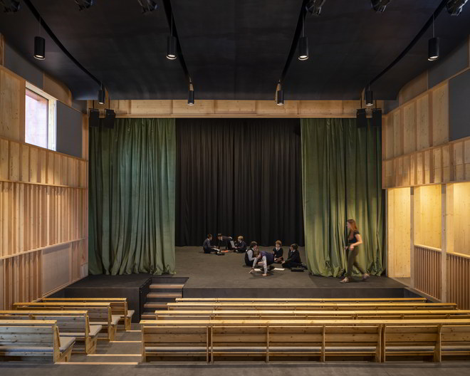 David Brownlow Theatre stage