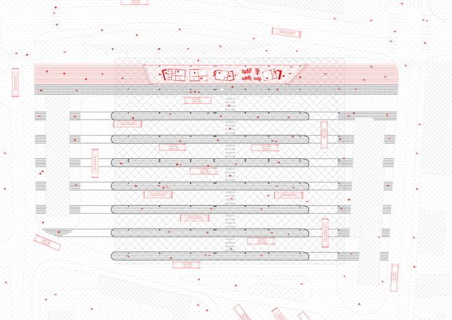 Chybik Kristof bus terminal zvonarka plan