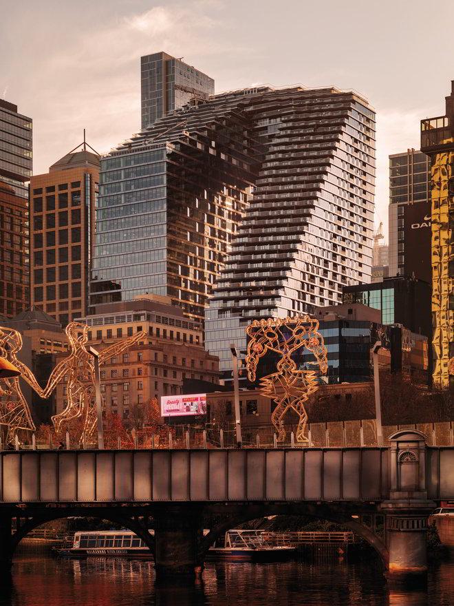 Collins Arch by Woods Bagot & SHoP Architects