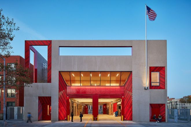 FDNY Rescue Company 2 by Studio Gang Architects