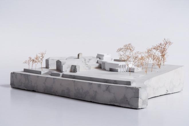 Multi-Pflegezentrum in Nembro von Studio, Präsentationsmodell